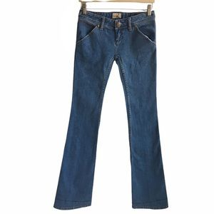 Free People Flare Wide Leg Light Wash Jeans 25